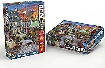 Quebra-cabeças Grow 1000 peças: Entardecer Europeu (exclusivo Amazon)