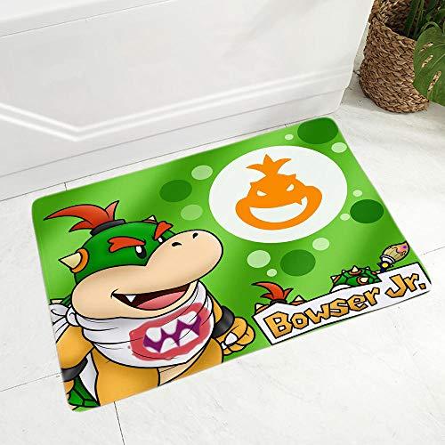 Super Mario deurmat Superzacht flanel tapijt voor keuken Slaapkamer Antislip Decor Klassiek spel Kleurrijke Cartoon vloer deurmat-met_40 * 60