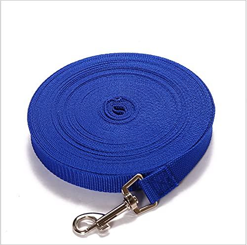 Cuerda elástica reflectante para perros de 5 m, resistente al agua, apta para perros grandes, medianos y pequeños, resistente al agua