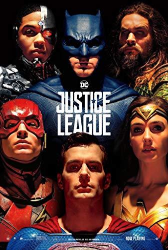 Visionpz 1000-teiliges Puzzle für Erwachsene Justice League Filmplakat Familien DIY Puzzles Dekomprimieren des intellektuellen Lernspielzeugs für Kinder Bestes Puzzlespiel 38x26cm