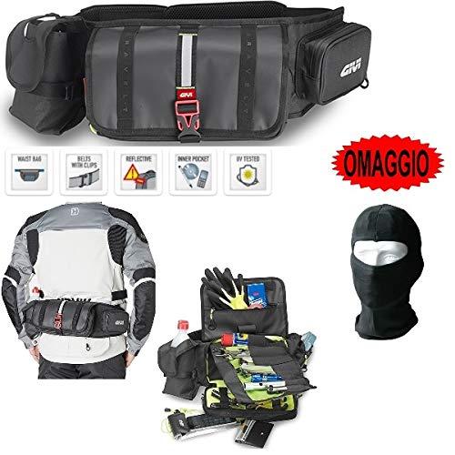 Riñonera para moto scooter Givi GRT710 porta accesorios con compartimento porta herramientas,...