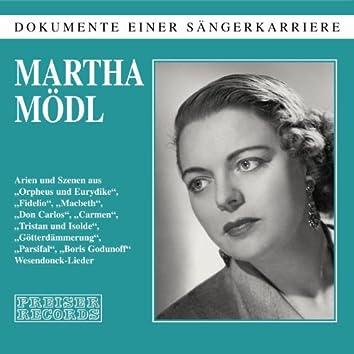 Dokumente einer Sängerkarriere - Martha Mödl