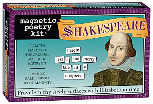 The Shakespeare Kit: Magnetic Poetry (Magnetic Poetry S.)