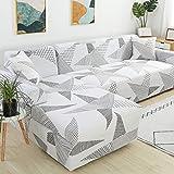Funda de sofá de Envoltura Ajustada geométrica Funda de sofá elástica Necesita un Pedido Funda...