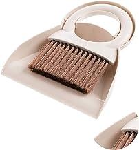 Meiwash Stofpan en borstel set, multifunctionele reinigingsgereedschap/mini-veegmachine met handbezem borstel, schattige s...