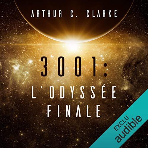 Page de couverture de 3001. L'Odyssée finale