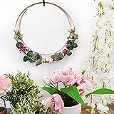 Espejo Redondo Pared Colgante Ideal para Decoracion hogar, Habitacion, Recibidor...