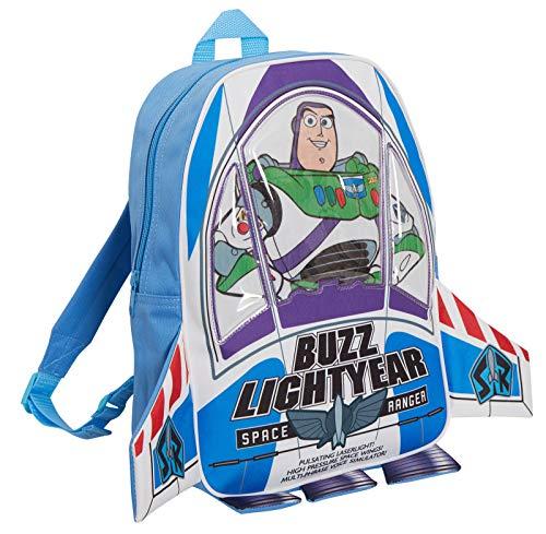Disney Toy Story Buzz Lightyear Bag 3D Rocket Backpack Kids Nursery School Lunch Rucksack
