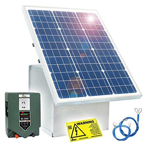 Eider 50W Solar Box & 12V Weidezaungerät EA 3000 Paket 1