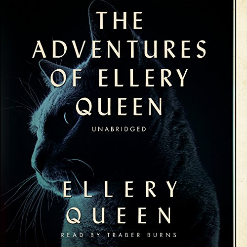 The Adventures of Ellery Queen audiobook cover art
