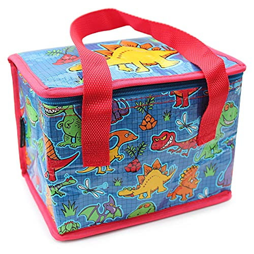 Fashion Stationery Kids Boys Dinosaur Lunch Box Insulated Picnic Lunch...