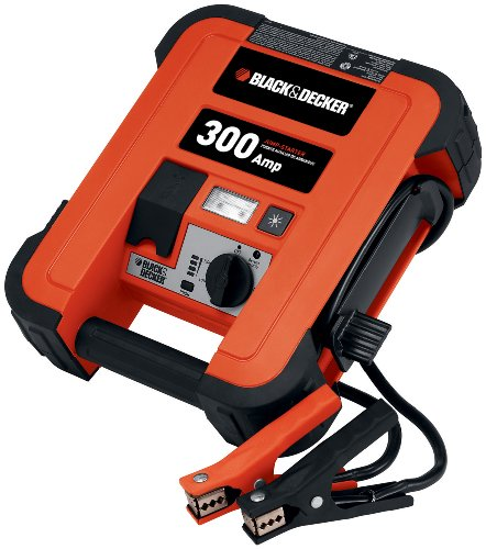 Best Review Of BLACK+DECKER JUS300B Jump Starter: 600 Peak/300 Instant Amps