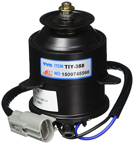 TYC 630280Toyota Camry repuesto Radiador de refrigeración ventilador Motor