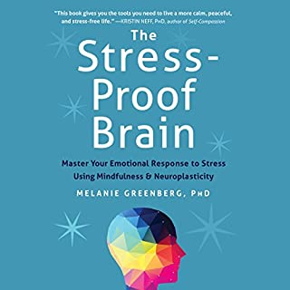 The Stress-Proof Brain audiobook cover art