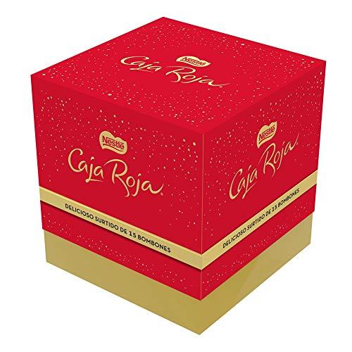 Nestlé Caja Roja Bombones de Chocolate - Cubo de bombones 150 gr