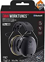 3M WorkTunes Connect Hearing Protector with Bluetooth technology - 3 Pack