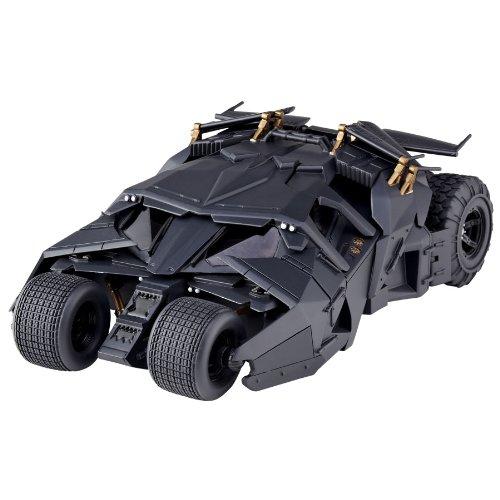 特撮リボルテック043 バットマン・ビギンズ ダークナイト ダークナイト・ライジング バットモービルタンブラー ノンスケール ABS&PVC製 塗装済み アクションフィギュア