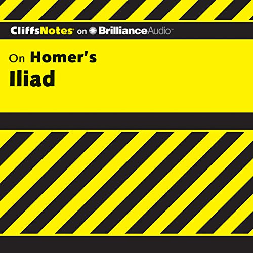 Iliad: CliffsNotes audiobook cover art