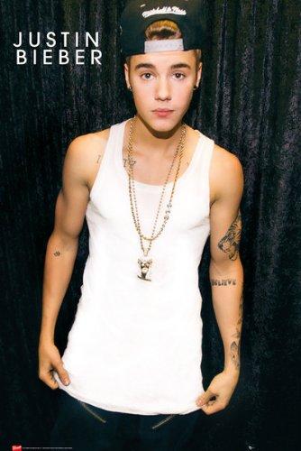 GB Eye Poster, Justin Bieber mit Kappe, 61x91,5cm, Größe: Maxi