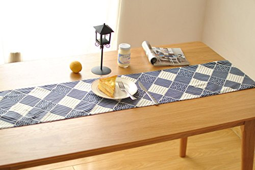 Table à Théà Double Couche Linge De Thé Zen Lin Linge De Drap De Table Tasse à Thé En Style Japonais,30*200cm