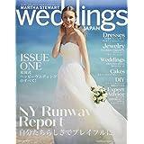 MARTHA STEWART Weddings JAPAN Number.ONE(マーサスチュワートウェディングスジャパン) (NEKO MOOK)