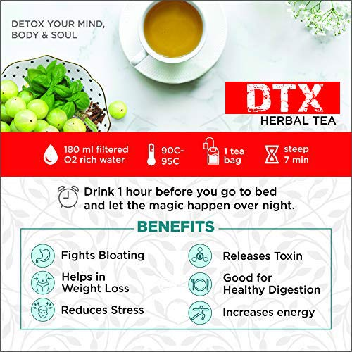 The Tea Trove Detox Tea for Weight Loss