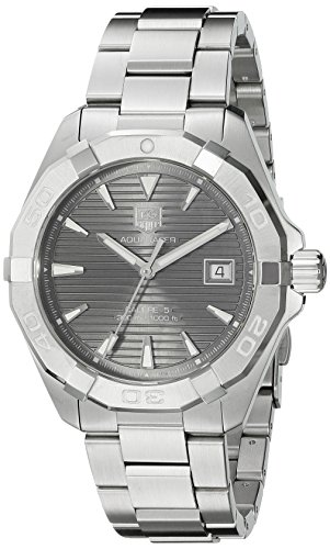 Tag Heuer uomo 'Aquaracracer' Swiss Automatic stainless steel orologio da donna, colore:...