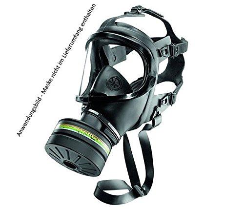 Dräger Zivilschutz ABC Filter mit DIN EN Schraubgewinde - 3