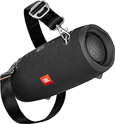 JBL Xtreme 2 Bluetooth Speaker with Rechargeable Battery, Waterproof, Carry Strap Included, Black from JBL