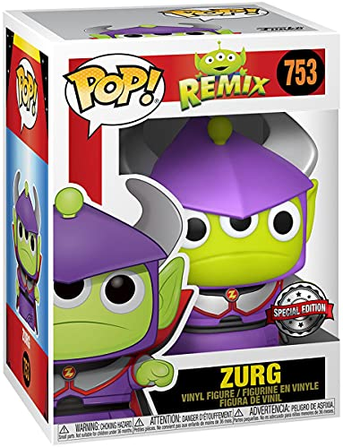 Toy Story Alien As Zurg (Metallic) Vinyl Figure 753 Unisex Funko Pop! Standard Vinile