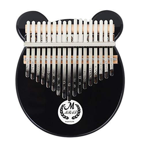 Amuzocity EQ Kalimba 17 Tasti Thumb Piano E Scatola di Protezione Del Martello Pneumatico E