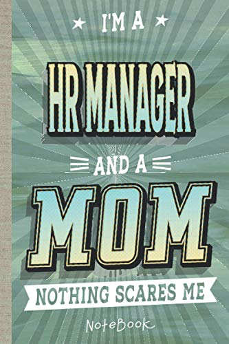 Hr Manager: Notebook/Journal (6x9 100 Pages) Gift for Colleagues, Friends and Family