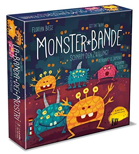 Monster-Bande, Reaktionsspiel