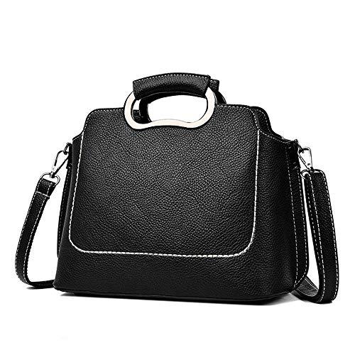 Defect Damen Handtaschen Schale wahr PU Softleder einzigen Messenger Umhängetasche 26,5 * 12 * 21 cm