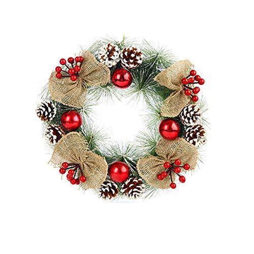 61uourGE Garland Arrangement Christmas Ornament Christmas Wreath Decorative WreathA