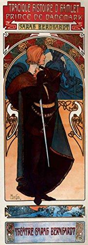 Das Museum Outlet–Hamlet von Alphonse Mucha–Poster Print Online kaufen (101,6x 127cm)