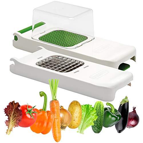 Alligator - Juego de cortador de verduras 2 en 1