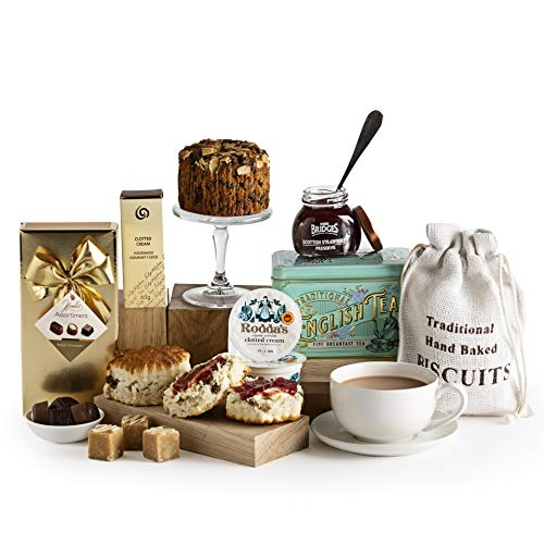 Luxury Cream Tea Gift Hamper - Scones and Jam Gift Hampers - Birthdays, Thank You & Special Occasions