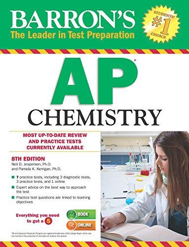 Barron's AP Chemistry, 8th Edition