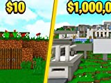 Clip: Would You Pay $10 or $1,000,000 for This House? Minecraft Million Dollar House Challenge