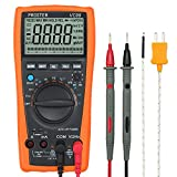 Auto-Ranging Multimeter VC99 Amp Ohm Volt Meter Multi Tester with Capacitance Frequency Test and Temperature...