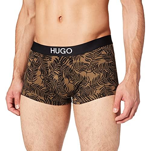 HUGO Herren TRUNK BROTHER PACK Boxershorts, 2er pack, Open Green355, L