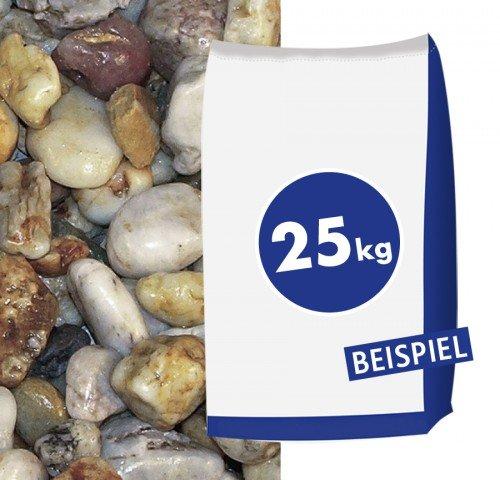 Quarzkies 16-32 mm - Zur dekorativen Gartengestaltung - 25 kg Sack