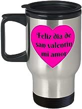 Feliz Dia De San Valentin Mi Amor Viajes Taza Para Hombre O Mujer Happy Valentines Day My Love Travel Coffee Mug For Women Or Men Hispanic Gift