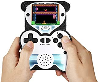 """Handheld Games Console for Kids, 12-Bit 220 Retro Games Player,2.5"""" LCD Portable Gaming System Rechargeable for Children -..."""