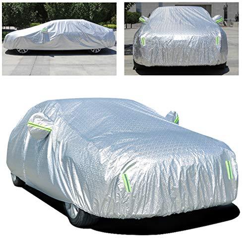 Gengcan Autoabdeckung für Nissan Qashqai Vollgarage Abdeckplane Wasserdicht Staubdicht Schneeschutz Sonnenschutz UV Schutz Autogarage Autohülle Stil B, 450x180x168 cm