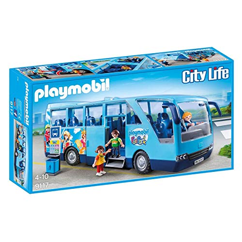 Playmobil - 9117 - Fun Park Bus / Autocar - Edition Limitée