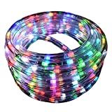 LED Color Changing 18ft 180 LEDs 8 Color Settings Rope Light w/Remote