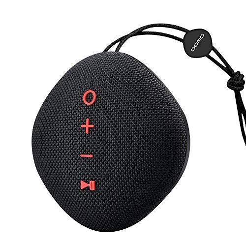 LIUJIE Bluetooth-Lautsprecher IPX5 Tragbarer, wasserdichter Bluetooth 4.2-Funklautsprecher mit leistungsstarkem Stereo-Bass, 18 Stunden Wiedergabezeit, TF-Kartensteckplatz