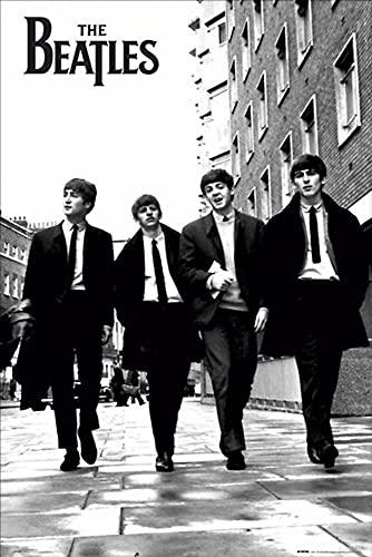 1art1 4331 The Beatles – In Londen Poster (91 x 61 cm)